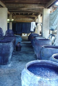 Amazing ancient indigo pots