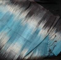 Silk mutmi scarf